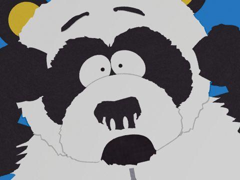 Sexual harassment panda cartoon
